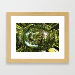 world human Framed Art Print