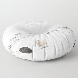 Icelandic Sheep IIII Floor Pillow