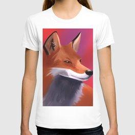 Fox Painting T-shirt