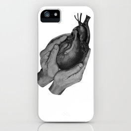 He Holds You iPhone Case