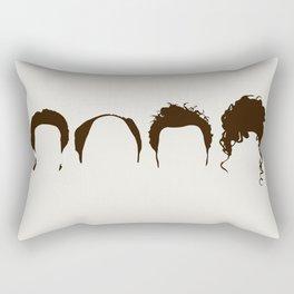 Seinfeld Hair Rectangular Pillow