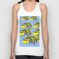 bees Tank Tops featuring Bees by David Abse