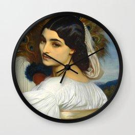 """Frederic Leighton """"Pavonia"""" Wall Clock"""