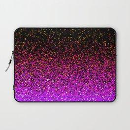 Pink Glitter Sparkle Gradient Laptop Sleeve