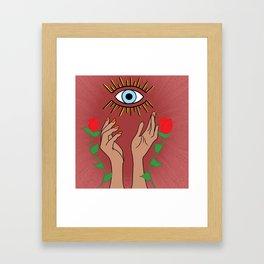 Mal De Ojo | EVIL EYE Framed Art Print