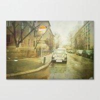 mini Canvas Prints featuring Mini by Esco