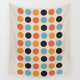 Bauhaus dots Wall Tapestry