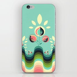 Happy Garden iPhone Skin