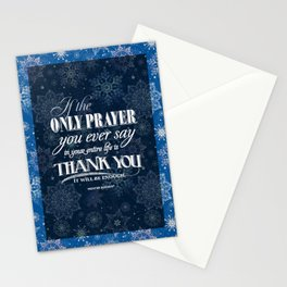 The Only Prayer Stationery Cards