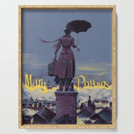 Mary Poppins Serving Trays | Society6