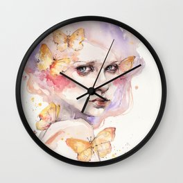 All A Flutter Wall Clock