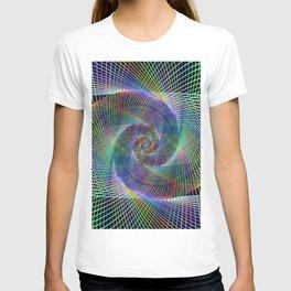 Fractal spiral T-shirt