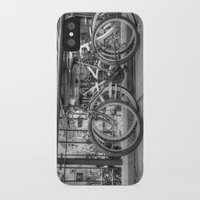 bikes iPhone & iPod Cases featuring Bikes by Kyla Steeves