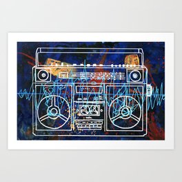 Malicious Melody Art Print