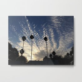 Beautiful Cloudy Sky Metal Print