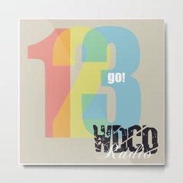 WDCD RADIO : 123GO! Metal Print