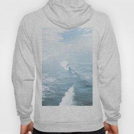 Blue Waves Surfer Hoody