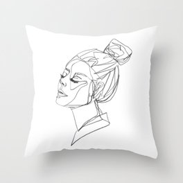 saskia Throw Pillow