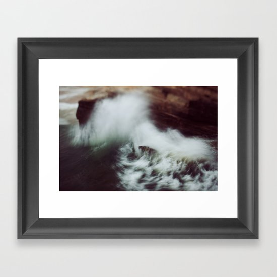 Guadalupe Wave Framed Art Print