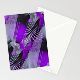 3D - abstraction -124- Stationery Cards