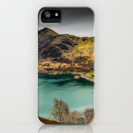 Llyn Peris Snowdonia iPhone Case