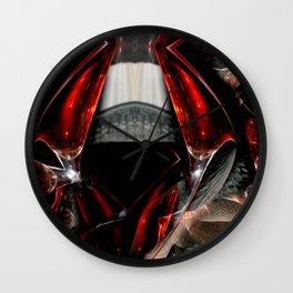 The Glass Gown Wall Clock