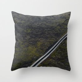 Meeting by chance Throw Pillow