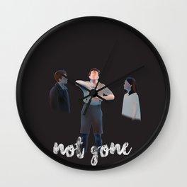 Not Gone Wall Clock