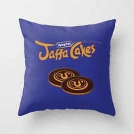 Apophis Jaffa Cakes Throw Pillow
