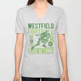 Westfield HS Football Unisex V-Neck