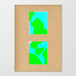 terres mers Canvas Print