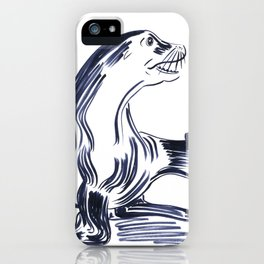 Happy Seal iPhone Case