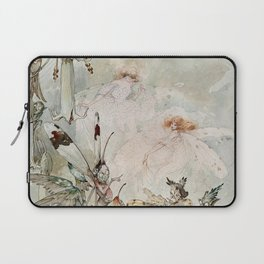 """Exotics at Play"" by Duncan Carse Laptop Sleeve"