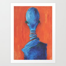 Nobody Art Print