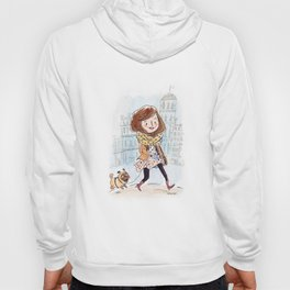 Walk in Quebec city with Marty Woof-Woof Hoody