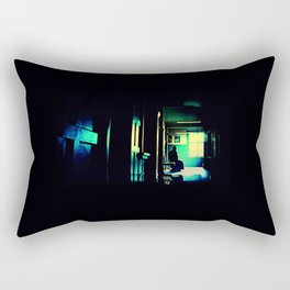 The Waiting Room Rectangular Pillow