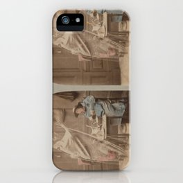Seeing Ghosts iPhone Case