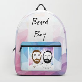 Beard Boy: Buttons and Snaps Backpack