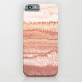 WITHIN THE TIDES BURNISH EARTH by Monika Strigel iPhone Case