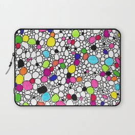 Circles and Other Shapes and colors Laptop Sleeve