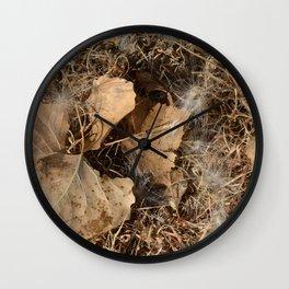 Winter Wetlands Wall Clock