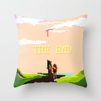 last of us Throw Pillows featuring The Last of us by Crisis