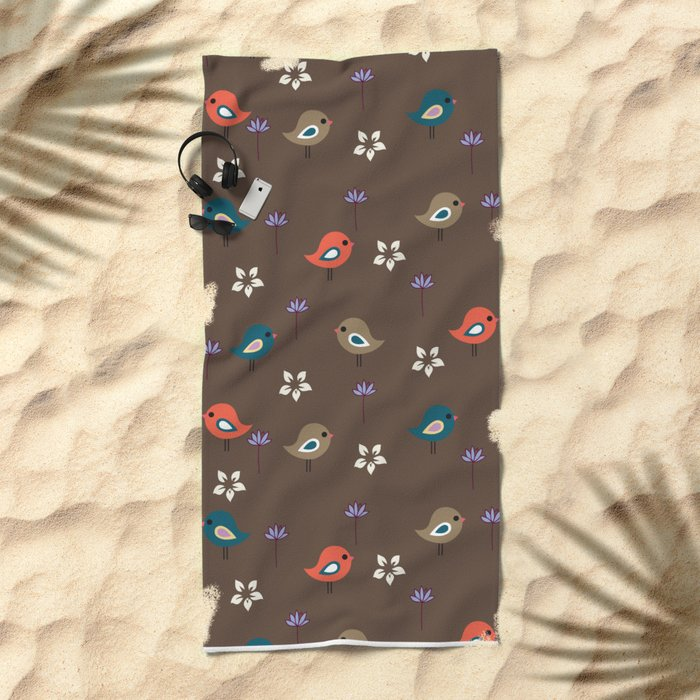 Cute Pattern 5 Beach Towel