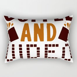 ALL I NEED IS COFFEE AND VIDEO GAMES T-SHIRT Rectangular Pillow