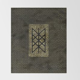 Web of Wyrd  -The Matrix of Fate Throw Blanket
