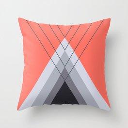 Iglu Living Coral Throw Pillow