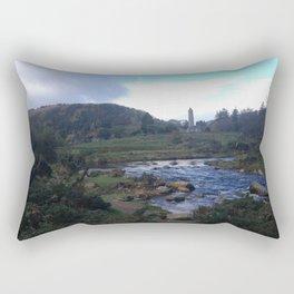 Among the Wicklow Hills Rectangular Pillow