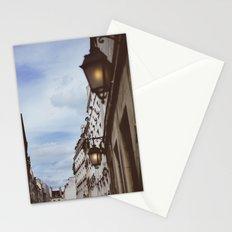 Lanterns & Streets of Paris Stationery Cards