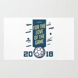 For The LOVE Of The GAME Rug