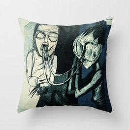 re:4 Throw Pillow